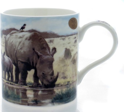 "Кружка ""Макнил. Носороги"" 300мл The Leonardo Collection LP91560"