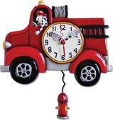 """Настенные часы """"Пожарная машина"""", 33см Enesco P1306"""