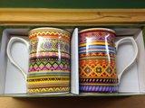 Набор кружек Мексиканский текстиль 300мл, 2 шт The Leonardo Collection LP92370