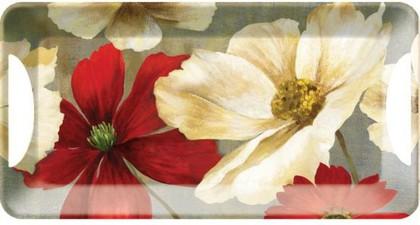 Поднос для сэндвичей Цветочный эскиз, 38x20см Creative Tops 5169682