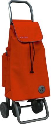 Термосумка-тележка хозяйственная складная оранжевая Rolser LOGIC DOS+2 THERMO PAC018mandarina