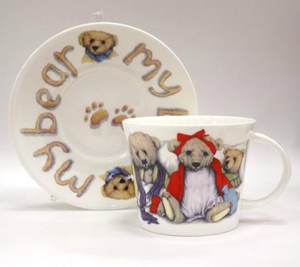Чайная пара Мой мишка 500мл Roy Kirkham XMYB1110