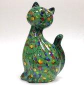 Копилка Кошка CARAMEL зелёная Pomme-Pidou 148-00029/1