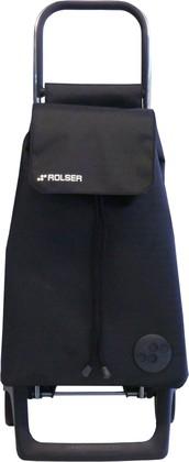 Сумка-тележка хозяйственная черная ROLSER Joy-1800 BAB012negro