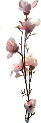"""Цветок искусственный """"Ветка магнолии"""" розовая Top Art Studio HR0301-2"""