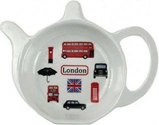 Подставка под чайный пакетик Лондон коллаж 13см Leonardo Collection LP92174