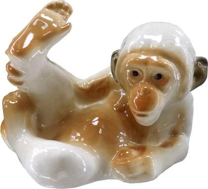 Скульптура Обезьянка N2, 9см, фарфор ИФЗ 82.02802.00.1