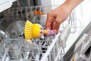 Щётка для посуды + губка на подставке Vigar Dolls 5382