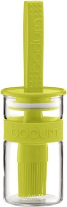 Ёмкость для cоуса с кисточкой, Bistro, 0,25л, зелёная, 11203-565