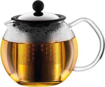 Чайник заварочный с металлическим прессом BODUM Assam, 0,5л, 1807-16