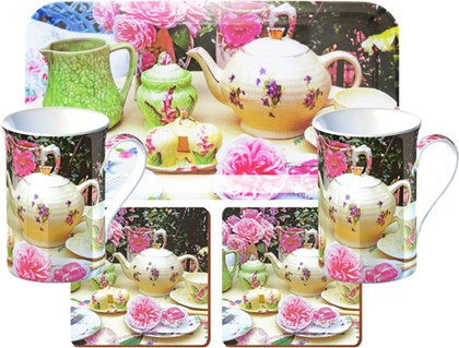 Набор Чайная Роза 5 предметов Creative Tops GS4/1280