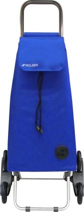 Сумка-тележка хозяйственная синяя Rolser RD6 MOUNTAIN MOU004azul