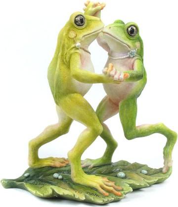"""Статуэтка """"Лягушки в танце"""", 15.5см Widdop Bingham WS0828-TA"""