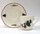 Кофейная пара 150мл Рождественская деревенька Masons 56533404214