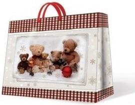 """Пакет подарочный """"Семейство Мишек"""" 54х16х44см Paw AGB014701"""