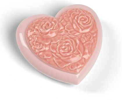 Шкатулка фарфоровая Сердце (Love Heart) NAO 02001581