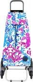 Сумка-тележка хозяйственная фиолетово-голубая Rolser RD6 MOUNTAIN MOU117azul/malva