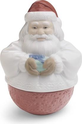 Шкатулка Санта Клаус (Deco Santa) 13x10см NAO 02001601