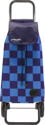 Сумка-тележка хозяйственная синяя Rolser RG MOUNTAIN MOU124azul