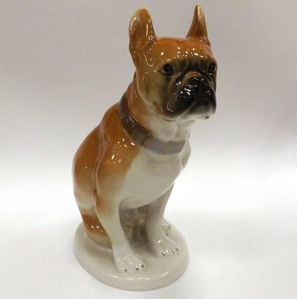 Скульптура Бульдог, фарфор ИФЗ 82.04068.00.1