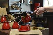 Турка для кофе керамическая 0.35л, красный Ceraflame IBRIKS D93616
