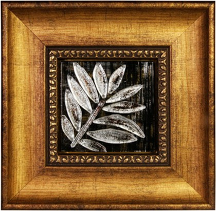 Картина стеклянная Лавр 32x32см Top Art Studio LG1242-TA