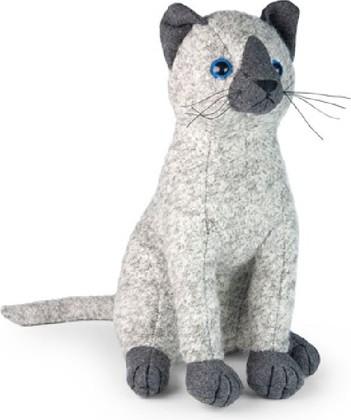 Дорстопер Сиамский кот Кегля 28см Dora Designs DSC01c