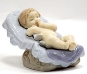 Статуэтка фарфоровая Спи мой мальчик (Dream Little Boy) 7см NAO 02001610