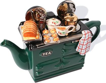 """Чайник коллекционный """"Воскресный обед"""" (Sunday Lunch Aga Teapot) The Teapottery 4407"""