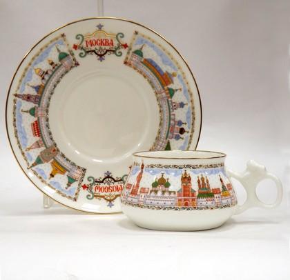 Чашка с блюдцем Москва златоглавая, ф. Билибина ИФЗ 81.16096.00.1