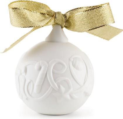 Рождественский шар 7x6см NAO 02001676