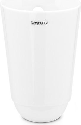 Стакан кухонный для рейлинга малый белый Brabantia 460289