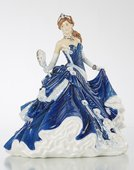 Статуэтка Полуночная романтика, фарфор, 22см English Ladies ELGELS03501