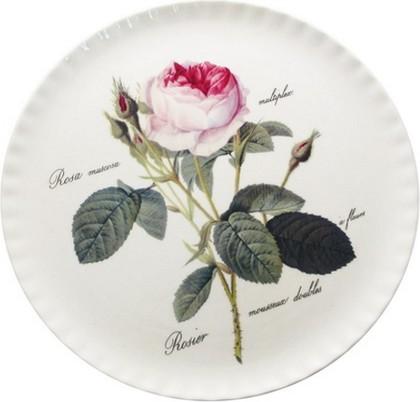 """Тарелка для торта 31см """"Роза Редаут"""" Roy Kirkham XROSA1320"""