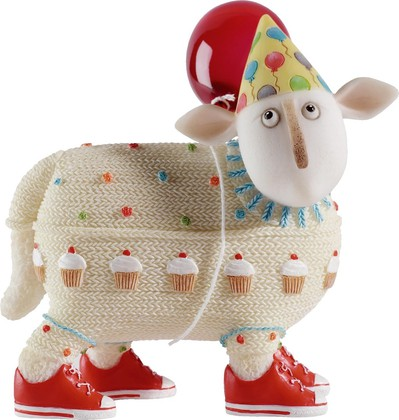 "Enesco - Border Fine Arts - Ewe and Me - ""Элис"", 9,5см, артикул A22448"
