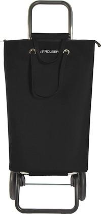 Сумка-тележка хозяйственная черная Rolser LOGIC RG SUP001negro