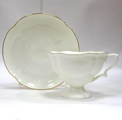 Чашка с блюдцем Золотая лента, ф. Наташа ИФЗ 81.10503.00.1