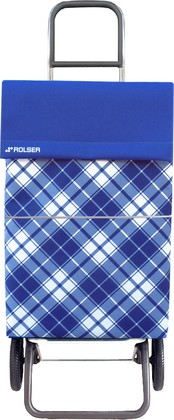 Сумка-тележка хозяйственная синяя Convert Rolser DML021azul