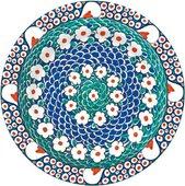 Тарелка Петал Изник Музей Лондона, 19см Creative Tops 5151701