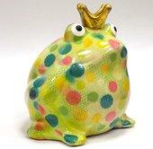 Копилка Царевна лягушка FREDDY зелёная с жёлтым Pomme-Pidou 148-00003/5
