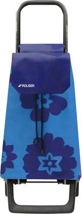 Сумка-тележка хозяйственная голубая ROLSER Joy-1800 BAB020azul