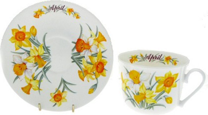 Чайная пара для завтрака Апрель, 500мл Roy Kirkham COFOTMAP1101