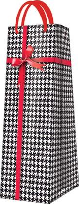 """Пакет подарочный """"Гусиные лапки"""" 12x37x10см Paw AGB017204"""