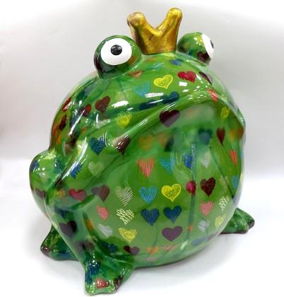 Копилка Гигантская Царевна лягушка зелёная 33см Pomme-Pidou 148-00110/1
