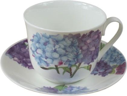 Чайная пара для завтрака Гортензия 450мл Roy Kirkham XNEWHYD1100