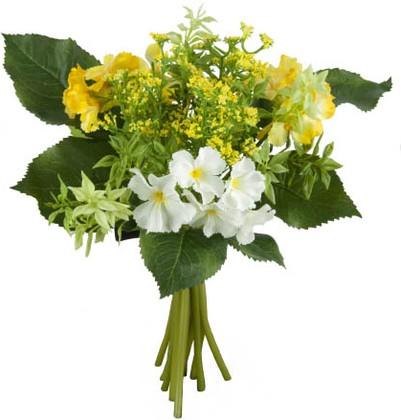 """Цветок искусственный """"Примула"""" букет 28см Floralsilk 12382Y-CR"""