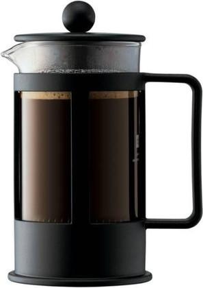 Кофейник с прессом чёрный 0.35л Bodum Kenya 1783-01LID
