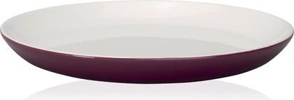 Тарелка для завтрака 22см бордовая Brabantia 610165