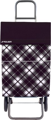 Сумка-тележка хозяйственная черная Convert Rolser DML021negro