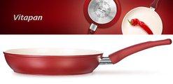 Сковорода с керамическим антипригарным покрытием 30см Tescoma Vitapan 603030